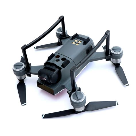Dji Spark Landing Bracket Height landing gear for dji spark drone 2 5cm height 9g weight 2 colors gray and black retail package