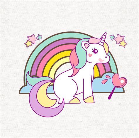 imagenes de unicornios tiernos unicorn and rainbow cushion upholstery printed craft