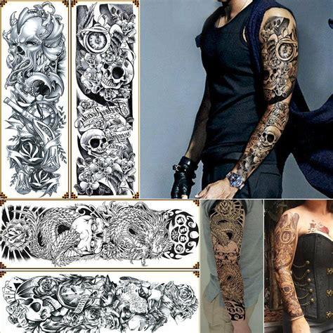 how to get temporary tattoos off 4 sheet temporary tattoos big arm sticker