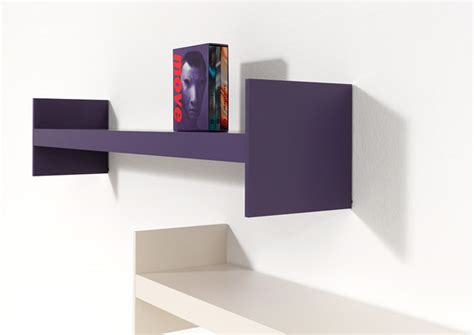 design shelf simple shelf system that offers a lot of room for books