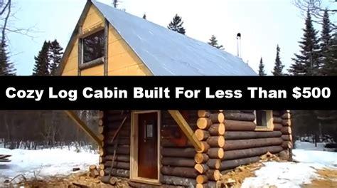 building a small log cabin studio design gallery