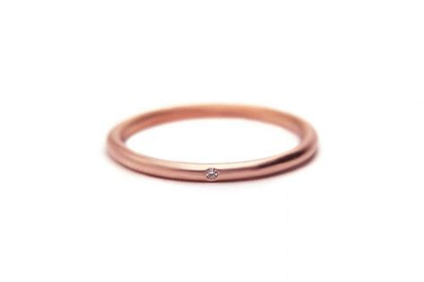 gold ring thin delicate stacking 14k gold