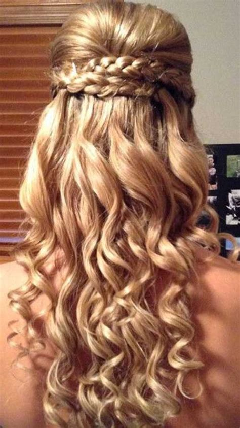 best homecoming hairstyles long hair 30 best prom hairstyles for long curly hair long