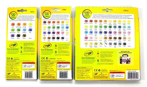 crayola 50 colored pencils crayola colored pencils 12 24 50 co end 10 30 2018 6 21 pm