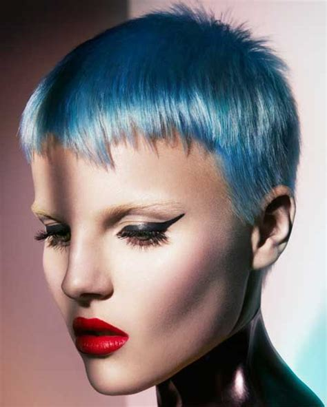 colorful short haircut 2013 hair color styles for short hair short hairstyles