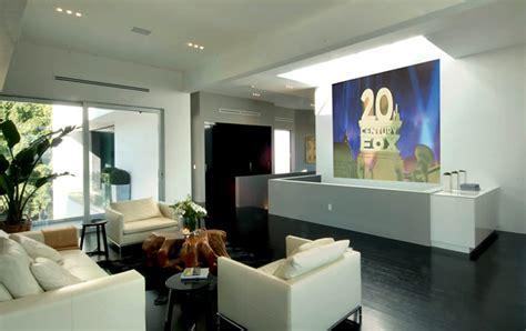 modern media room contemporary luxury media room interior design of