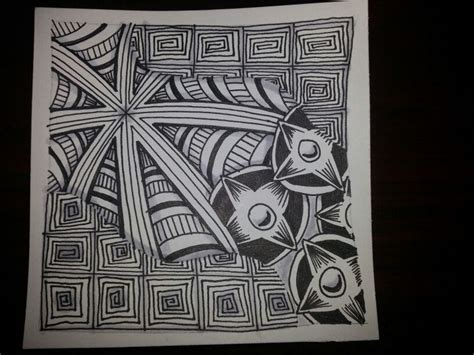 zentangle pattern drupe 17 best images about emingle on pinterest triangles