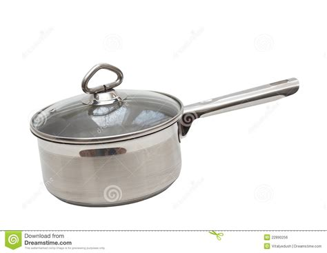 stainless steel made of saucepan made of stainless steel royalty free stock