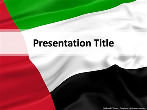 United Arab Emirates PowerPoint Template   Download Free