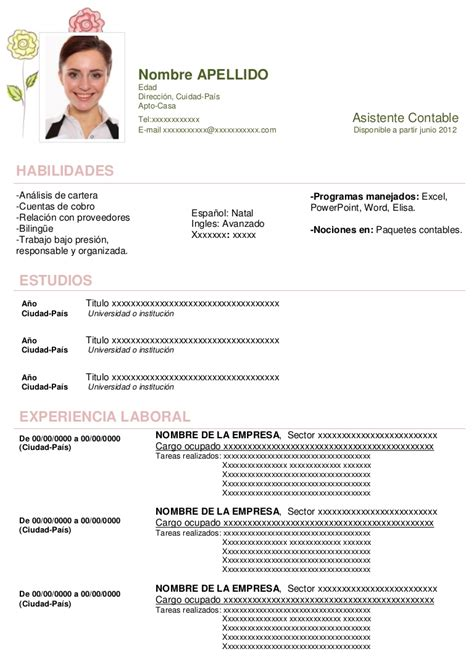 Modelo De Curriculum Vitae Filetype Doc modelo de curriculum vitae filetype doc images