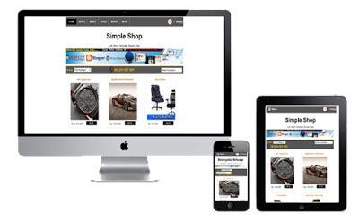 template toko online responsif template toko online responsive gratis irwantea sosial