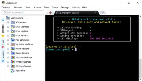 ssh console mobaxterm xserver with ssh telnet rdp vnc and x11