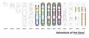 Adventure Of The Seas Floor Plan Royal Caribbean International Adventure Of The Seas