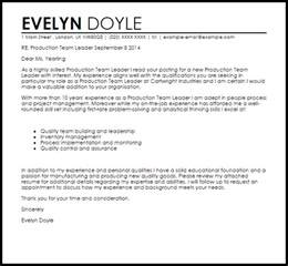 sle cover letter for team leader position personal recommendation letter sles exles of