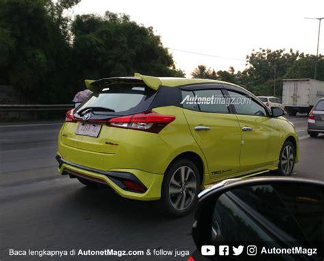 Karpet Mobil Model Trd Sportivo Model A Toyota Avanza Vvt I toyota yaris trd sportivo 2018 punya bodykit baru ini sisi depannya