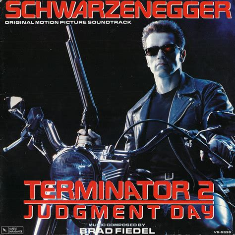 Cd Ost Original Sountrack Terminator 2 Judgement Day vinyl terminator 2 judgement day soundtrack 2xlp concept entertainment