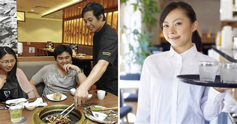 Tries To Up A Waitress by 10 Things Every Malaysian Waiter Or Waitress Can Totally