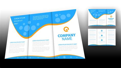 Illustrator Brochure Templates Free by Illustrator Tutorial Brochure Design Template