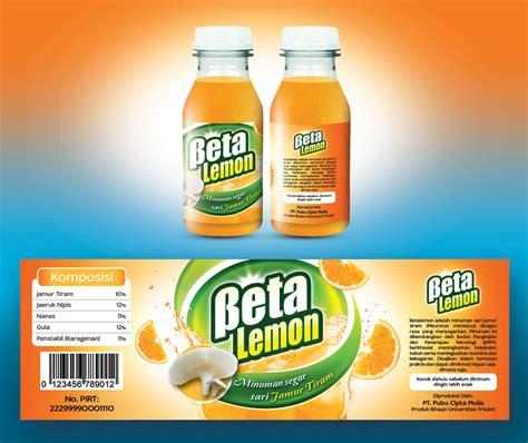 Desain Label Minuman | sribu label design desain label untuk minuman betalemon