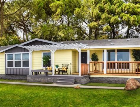 Section Manufactured Homes by Multi Section Log Home Factory Direct Homes