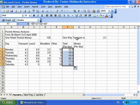 cara membuat blog untuk perniagaan microsoft excel 2003 4 1 formula mudah untuk pengiraan dan