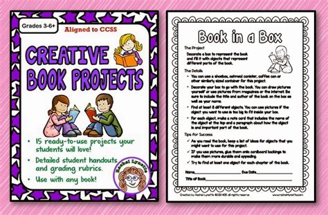 ideas for a book report ten great creative book report ideas minds in bloom