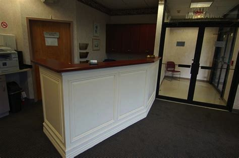 built in reception desk built in reception desk design decoration