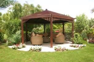Backyard Gazebo Ideas Relax Hexagon Gazebo Ideas Agit Garden Collections