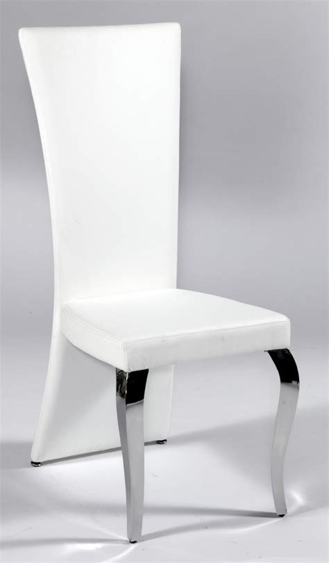 White High Back Dining Chairs White High Back Dining Chairs Winda 7 Furniture