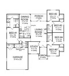 House Plans 2000 Square Feet 4 Bedrooms by 301 Moved Permanently