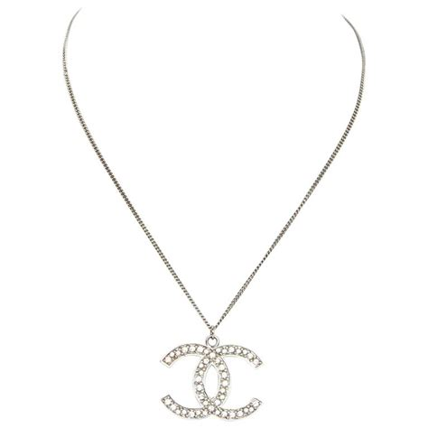 chanel cc pendant necklace at 1stdibs