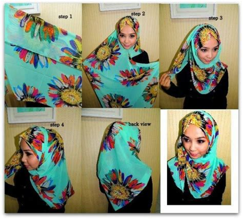 tutorial pashmina cotton 17 best images about hijab tutorial on pinterest nice