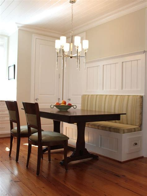 Corner Banquette Dining by Built In Bench Put A Table In Front Of It And Voila