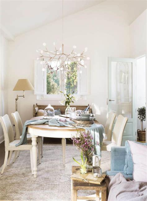 mesa extensible decoracion lamparas comedor mesas