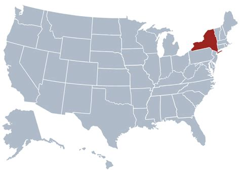 Ny Corporations Outline by New York State Information Symbols Capital Constitution Flags Maps Songs