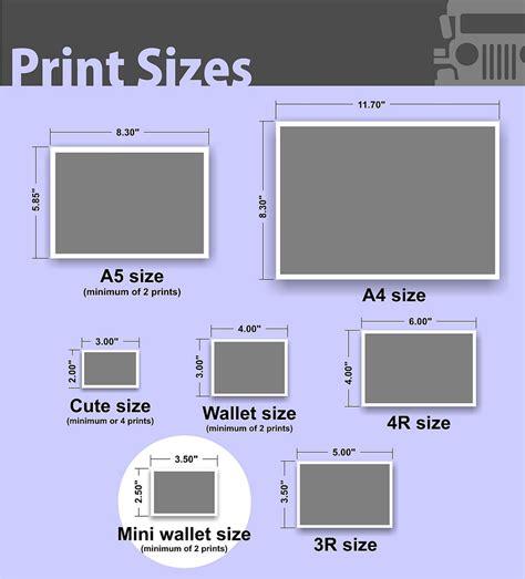 Pigura Foto Size 2r photo paper sizes 3r wallet visit us now at www photojeepn flickr