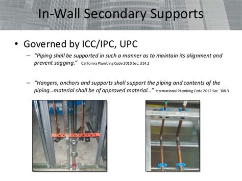 ipc section 308 aspe ceu pipe hangers and supports