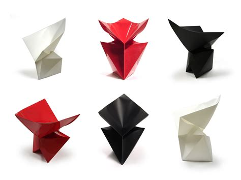 Origami Chair - move around with your origami chair the anonimiss files