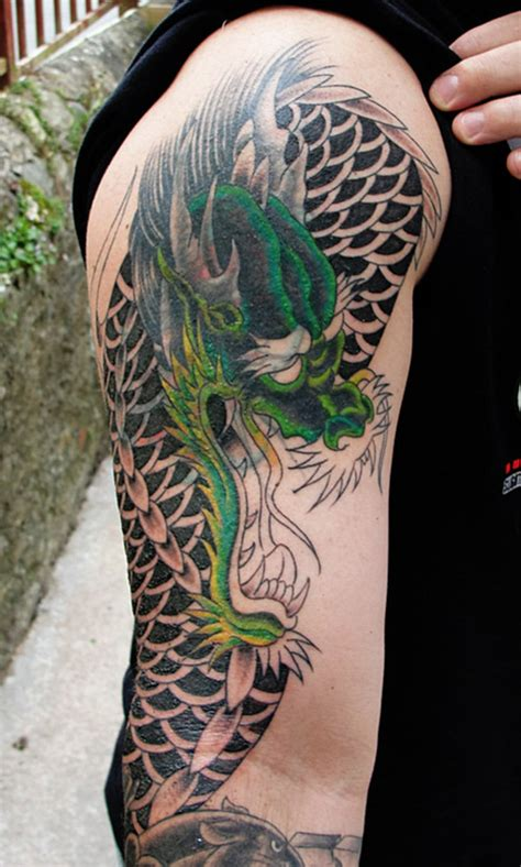 tribal dragon sleeve tattoo sleeve designs tribal japanese and