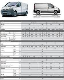 Nissan Primastar Dimensions Recommended Innolift Model For Nissan Primastar