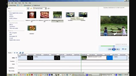 tutorial de windows movie maker creditos con imagenes y videos tutorial de windows movie