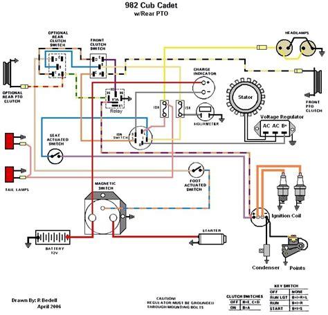 cub cadet 2160 wiring diagram mtd wiring diagram