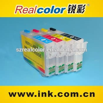 Fast Print Chip Pisah Autoreset Epson Tx109 1 Set 1 t0921n ink cartriges for epson t26 t27 tx117 refill ink cartridges with auto reset chip buy