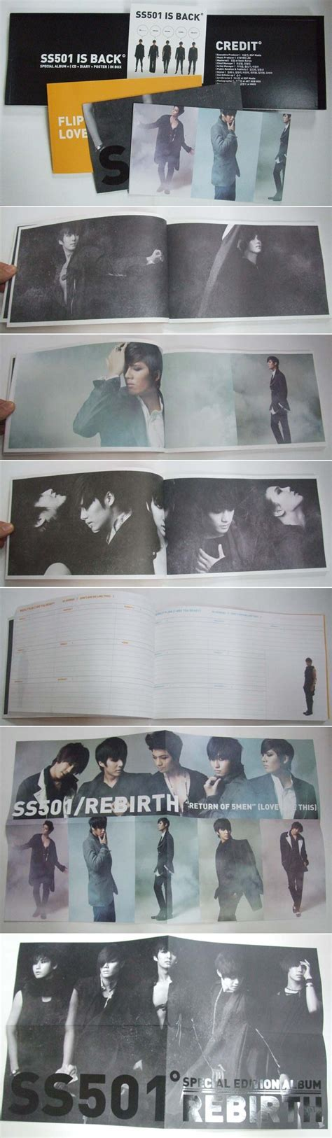 Ss501 Rebirth Album Normal Version ss501 discograf 237 a asianpopmx