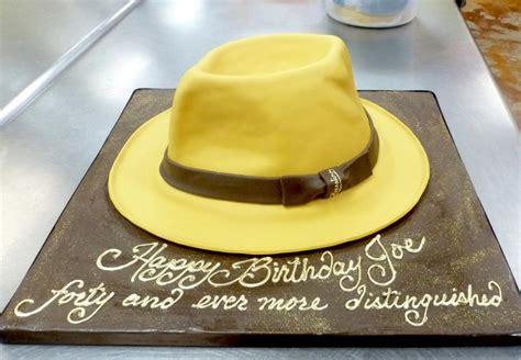 Fedora Hat Cake