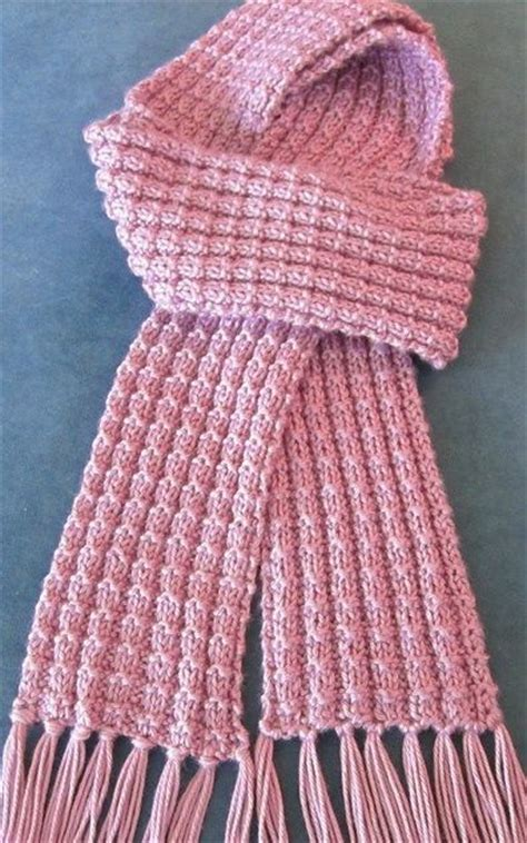 easy knit scarf patterns the world s catalog of ideas