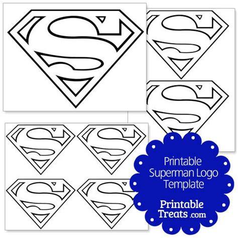 superman cake template printable superman logo template from printabletreats