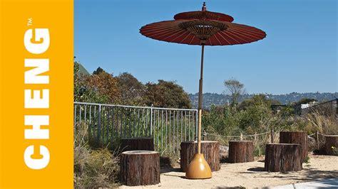 Diy Patio Umbrella Make A Concrete Umbrella Stand From An Ikea L Shade