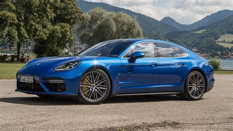 blue review porsche panamera 2017 review drive carsguide