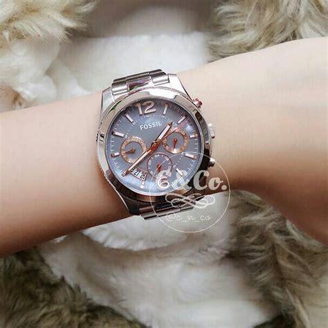 Jam Tangan Wanita Cewek Fossil Fj08 jual fossil es3880 jam tangan original wanita perempuan cewek c co